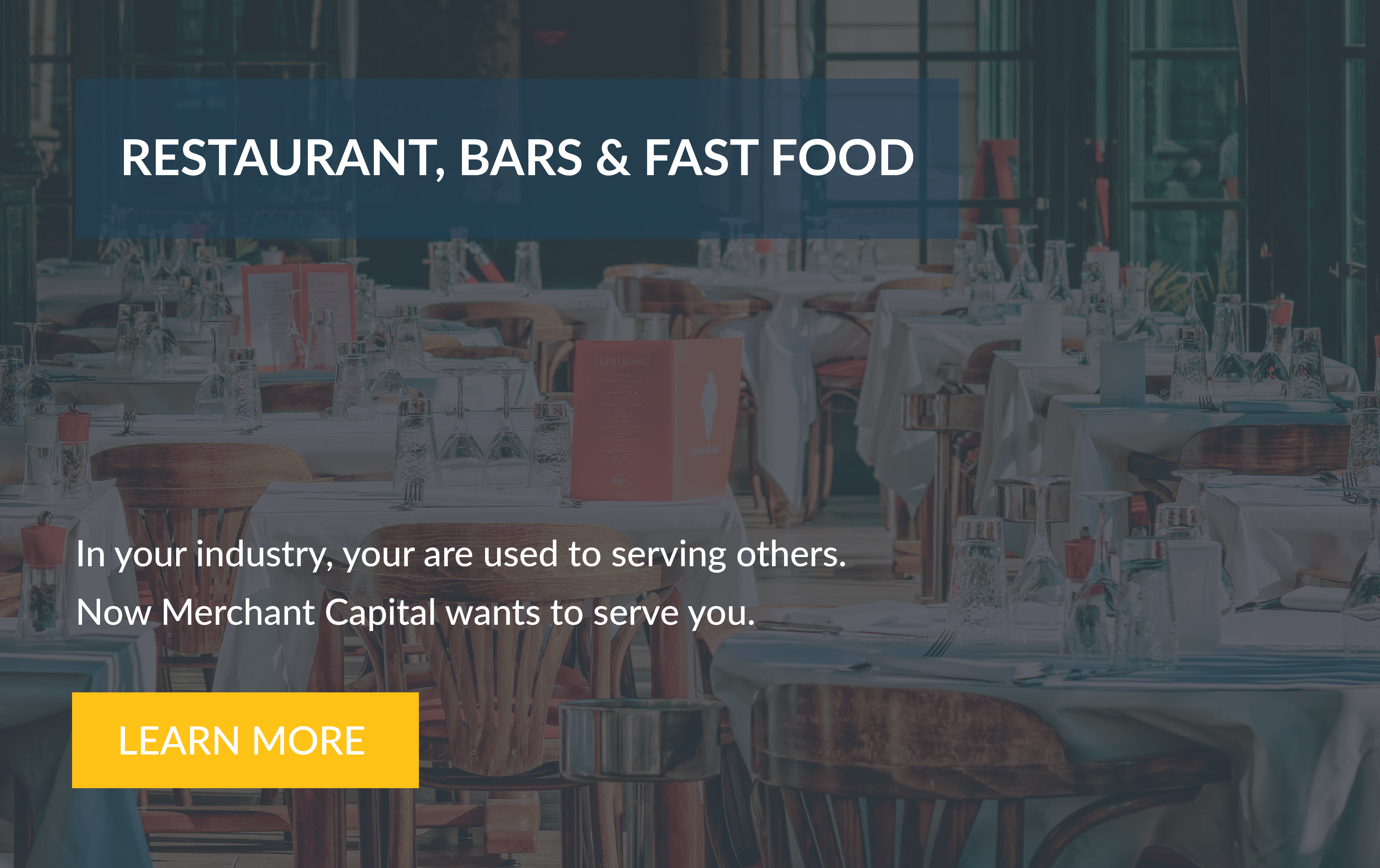RESTAURANT BARS & FAST FOOD