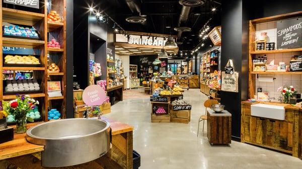Sensory retail spaces