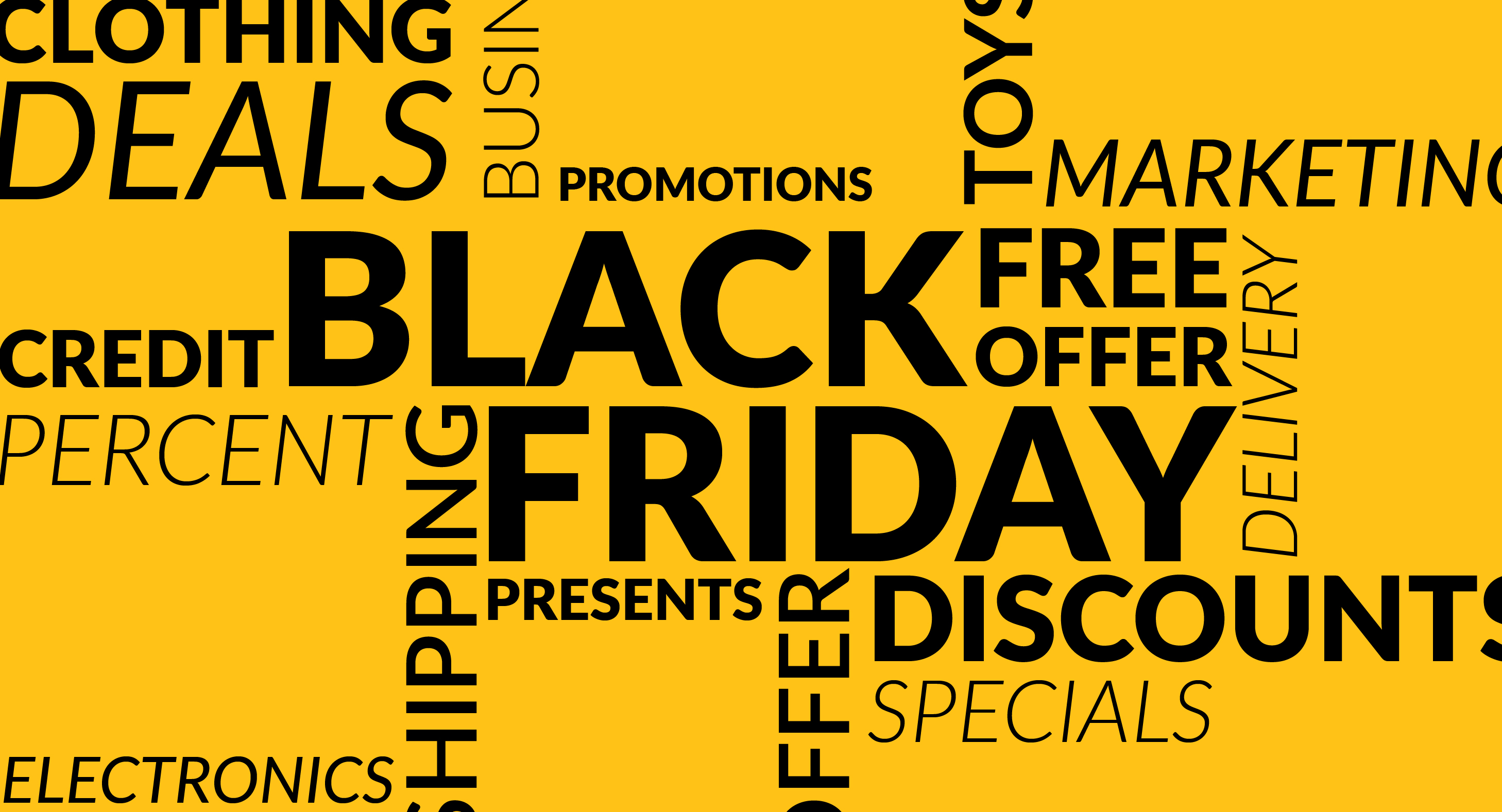 Five Top Tips To Market Your Black Friday Specials