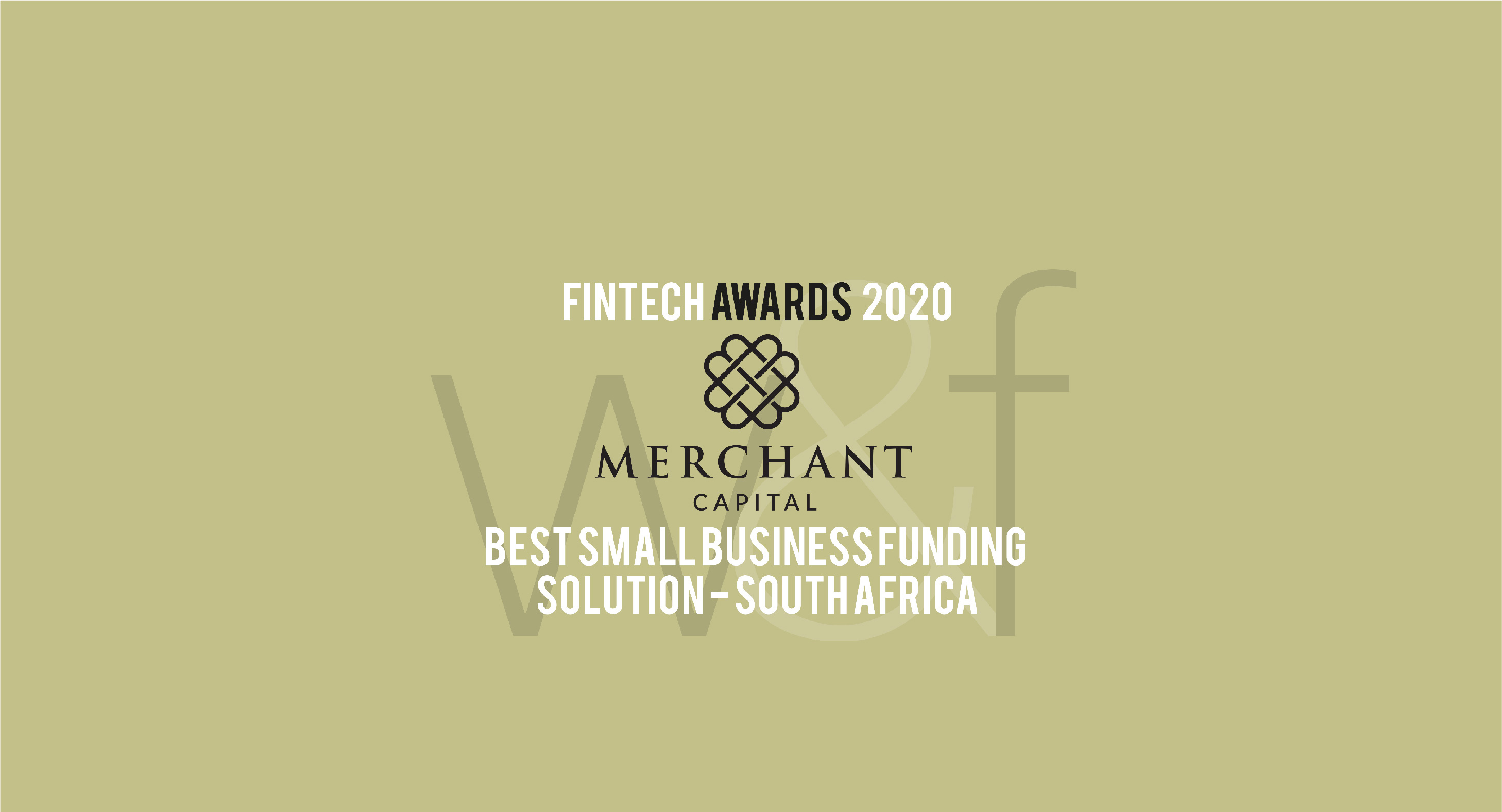 Merchant Capital Named SA's Best Small Business Funder